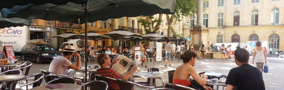 Enjoying life in Aix en Provence