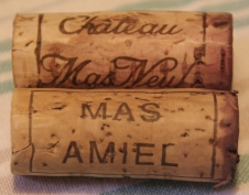 bouchonmas Tourte à la joue de boeuf : Mas Amiel 2002 versus Mas Neuf 2002