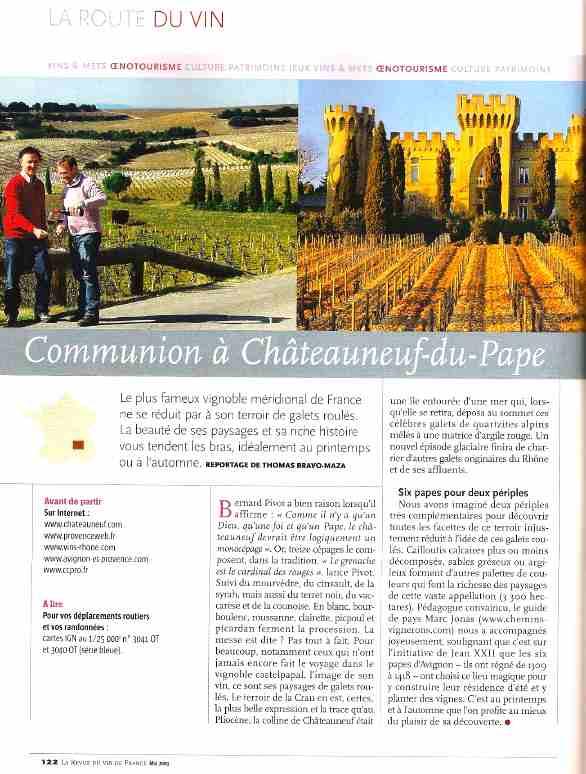 Revue des vins de france chemins vignerons for Revue des vins de france