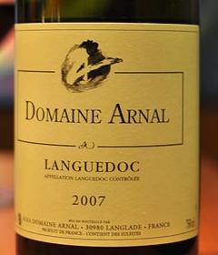 arnal rouge Domaine Arnal   AOC Languedoc