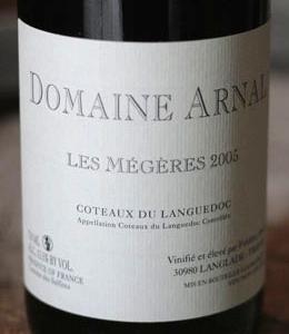 megeres arnal Domaine Arnal   AOC Languedoc