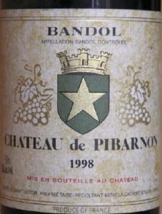 pibarnon 227x300 Horizontales Bandol 2001 et 1998