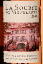 rose vignelaure Horizontale rosés Coteaux dAix 2009
