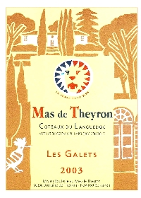 theyron galets Mas de Theyron