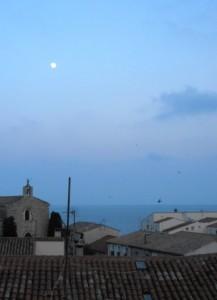 mezelune 217x300 Mèze petit port sur létang de Thau au carrefour des crus du Languedoc