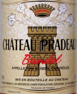 pradeaux etiquette 247x300 Pradeaux 2001 et magret de canard aux cèpes