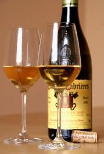 cabrieres2006 verres 203x300 Château Cabrières 2006 blanc et rôti de porc aux fruits secs