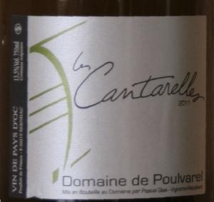 cantarelles 2 vins de pays blanc : Cantarelles de Poulvarel versus Etincelle de Cal Demoura