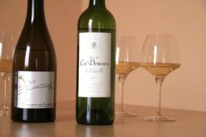 poulvarel caldemoura 300x200 2 vins de pays blanc : Cantarelles de Poulvarel versus Etincelle de Cal Demoura