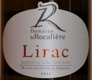 rocaliere blc 2011 300x262 Lirac blanc La Rocalière 2011 et fruits de mer cuits