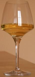 rocaliere verre blc 139x300 Lirac blanc La Rocalière 2011 et fruits de mer cuits
