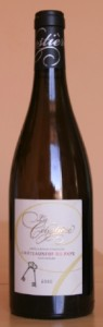 celestiere bouteille 95x300 Domaine de la Célestières blanc 2010 et cabillaud à lestragon