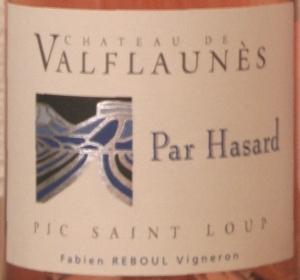 pic rose valflaunes 3 Pic Saint Loup rosé 2012