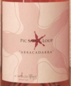 pic rose abracadabra 250x300 3 Pic Saint Loup rosé 2012