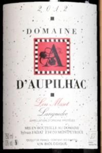 Domaine d'Aupilhac - Lou Maset 2012