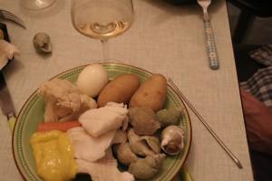 Aïoli : ail + olive