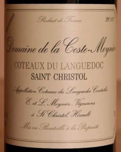st christol lacoste 240x300 Saint Christol 2011   petite verticale de trois vins