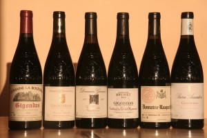 6 vins dont les cuvées proviennent de terroirs différents
