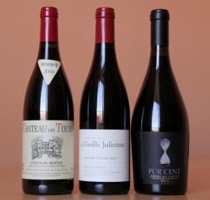 3cdr1 300x287 3 grands (petits) Côtes du Rhône