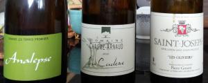 3blancs 300x120 3 vins blanc sudistes et 4 fromages de chèvre