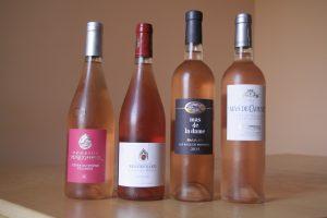 4roses 300x200 Quatre rosés : Provence versus Rhône