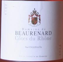 rose beaurenard Quatre rosés : Provence versus Rhône